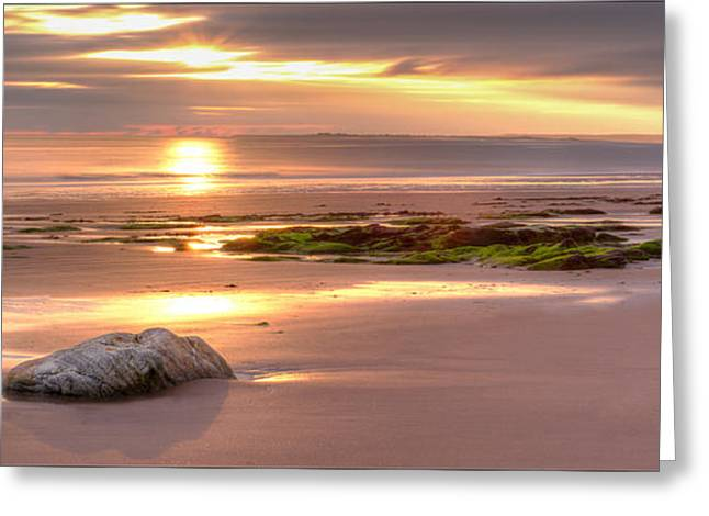 Sunrise At Nairn Beach Greeting Card