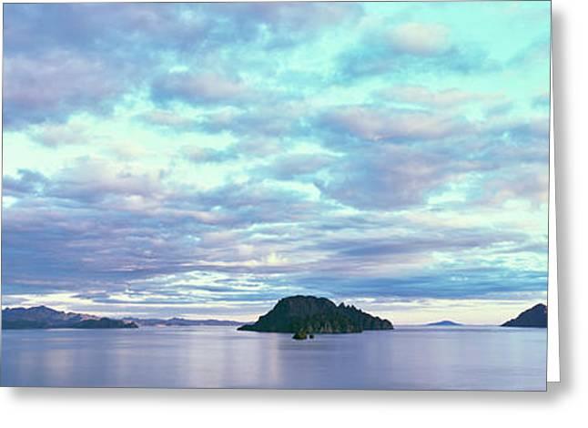 Sunrise At The Islands Of Loreto Greeting Card