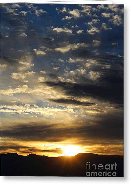 Sunrise From Mt. Elbert Greeting Card