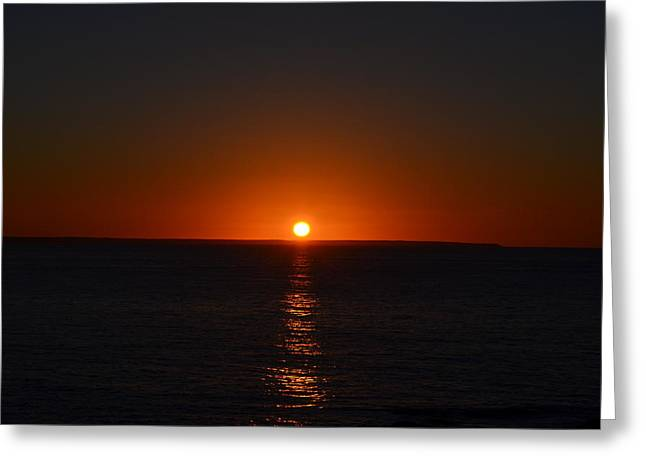 Sunrise Greeting Card by James Petersen