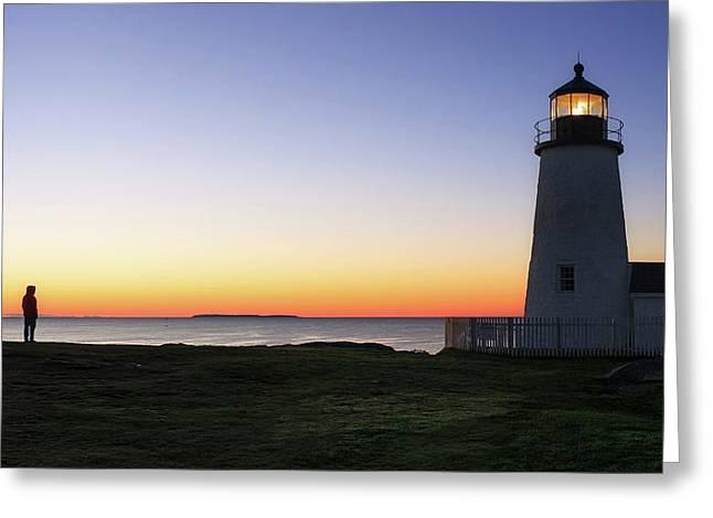 Sunrise Over An Atlantic Coastline Greeting Card by Babak Tafreshi
