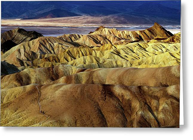 Sunrise Over Death Valley Greeting Card by Babak Tafreshi