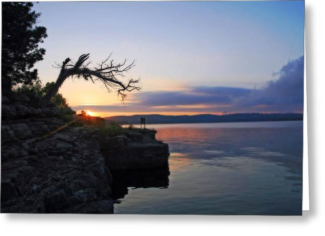 Sunrise Over Table Rock Lake Greeting Card