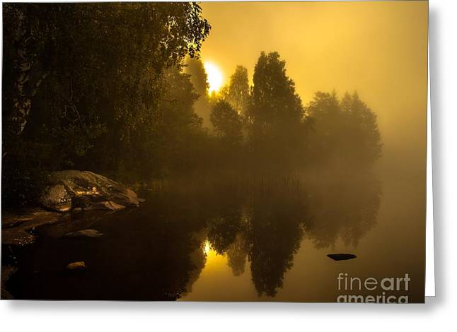 Sunrise Greeting Card by Rose-Maries Pictures