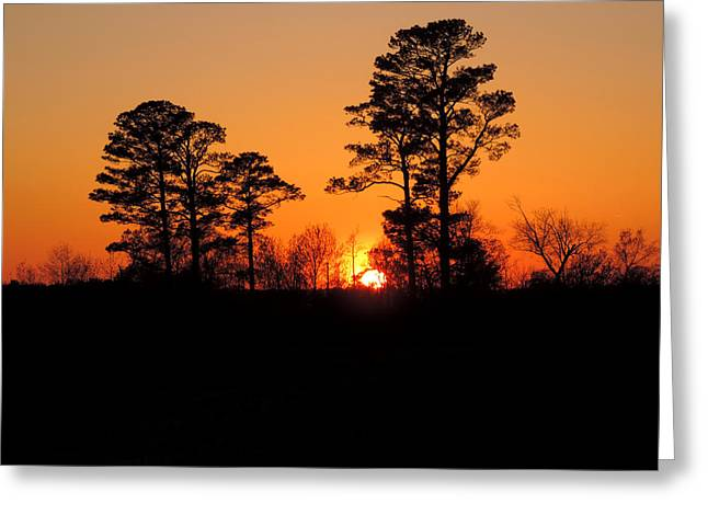 Sunset 7 Greeting Card by Stephanie Kendall