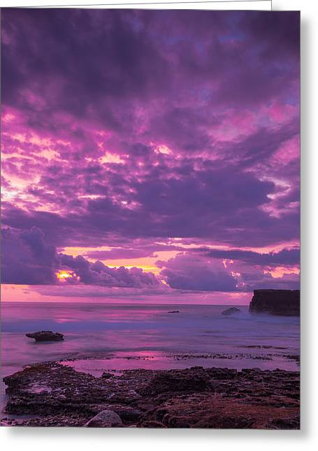 Greeting Card featuring the photograph Sunset At Tanah Lot - Bali by Matthew Onheiber