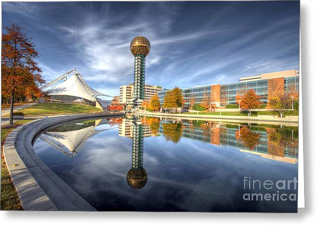 Sunsphere Greeting Card