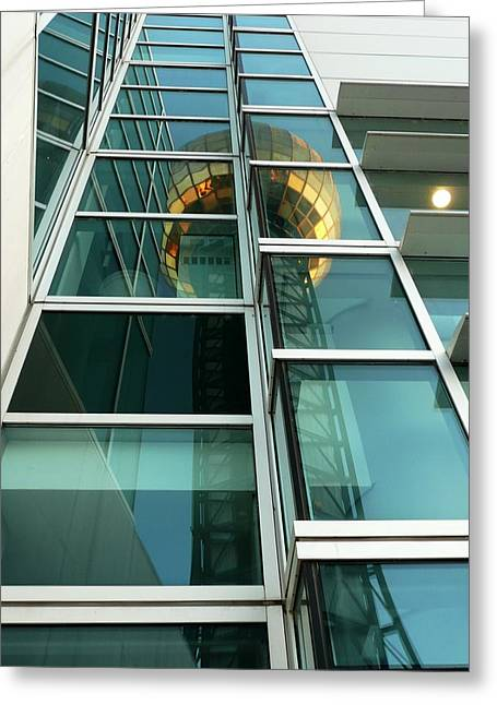Sunsphere Reflections Greeting Card