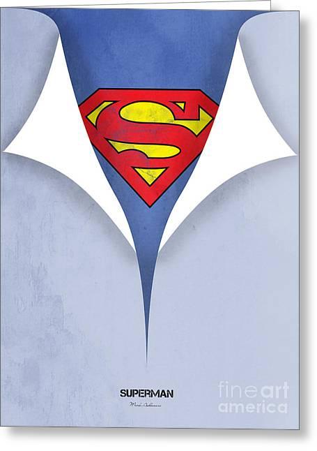 Superman 9 Greeting Card