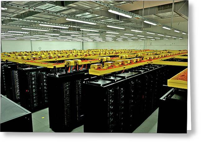 Supermuc Supercomputer Greeting Card