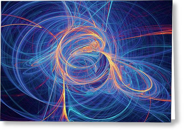Supersymmetry Conceptual Artwork Greeting Card by David Parker
