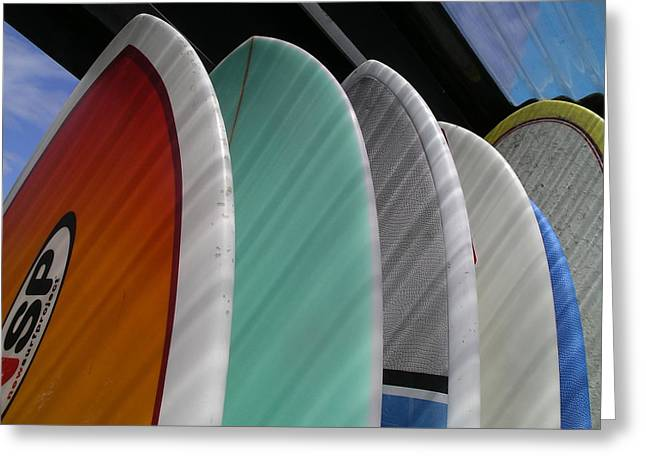 Surf Break Greeting Card