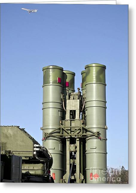 Surface-to-air Missile Unit Greeting Card by RIA Novosti