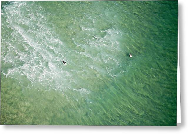 Surfers, Gold Coast Greeting Card by Brett Price