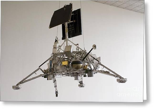 Surveyor Lunar Lander Test Model Greeting Card by Mark Williamson
