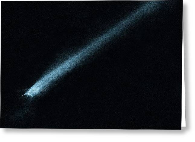 Suspected Asteroid Collision Greeting Card by Nasa, Esa, And D. Jewitt (university Of California, Los Angeles)