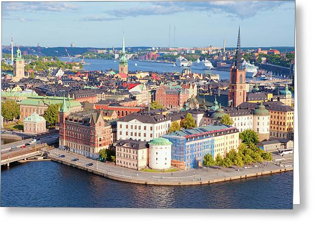 Sweden, Stockholm - The Old Town Greeting Card