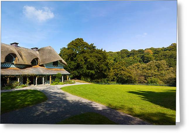Swiss Cottage Cottage Ornee On A Hill Greeting Card by Panoramic Images