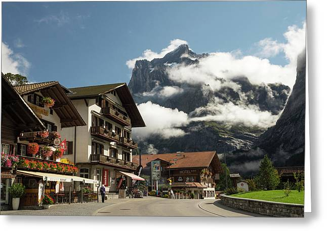 Switzerland, Bern Canton, Grindelwald Greeting Card