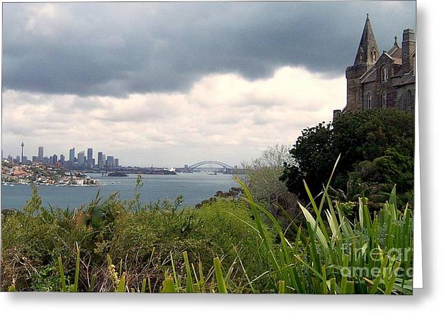 Sydney Australia Greeting Card by John Potts
