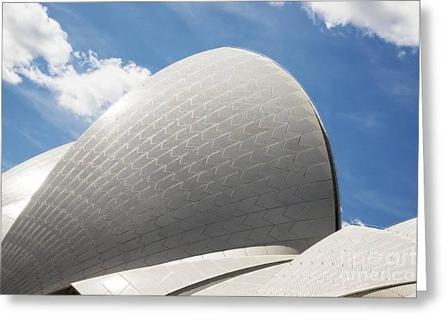 Sydney Opera House Detail In Australia Greeting Card