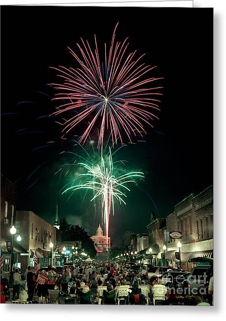 Sylva 4th Of July 2004 Greeting Card