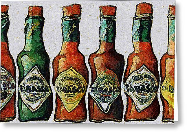 Tabasco Greeting Card