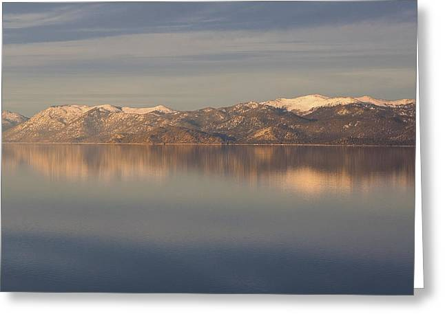 Tahoe Greeting Card by Alison Miles