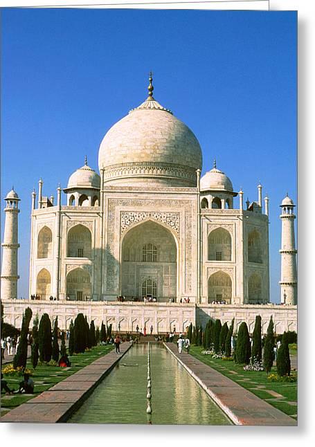 Taj Mahal Greeting Card by Unknown