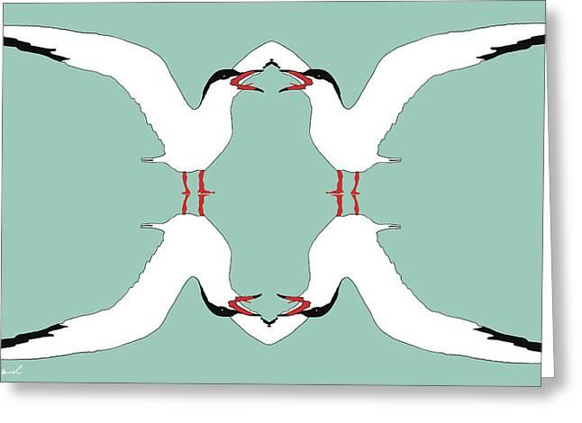 Talking Terns Greeting Card