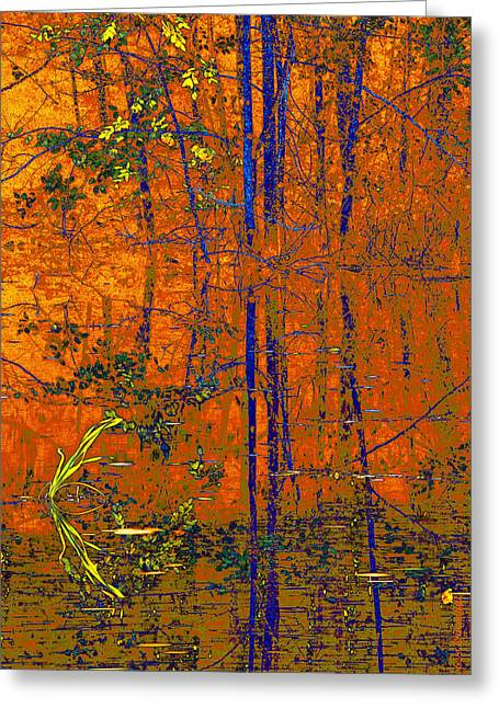 Tapestry Greeting Card by Steve Warnstaff