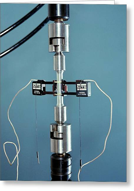 Tensile Testing Greeting Card by Langley Research Center/nasa/science Photo Library