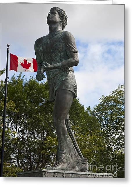 Terry Fox Monument Greeting Card