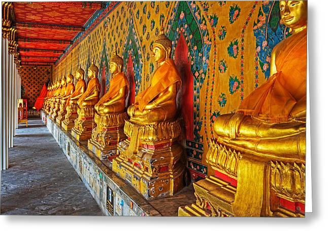 Thailand Greeting Card by David Davis