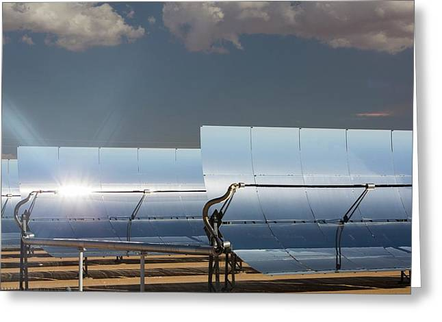 The 354 Megawatts Segs Plant Greeting Card by Ashley Cooper