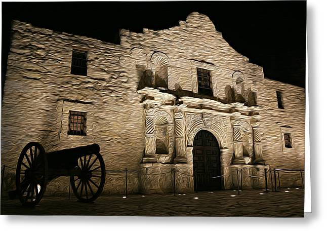 The Alamo Remembered Greeting Card