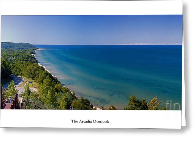 The Arcadia Overlook Greeting Card by Twenty Two North Photography