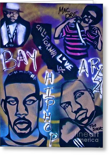 The Bay Area Greeting Card by Tony B Conscious