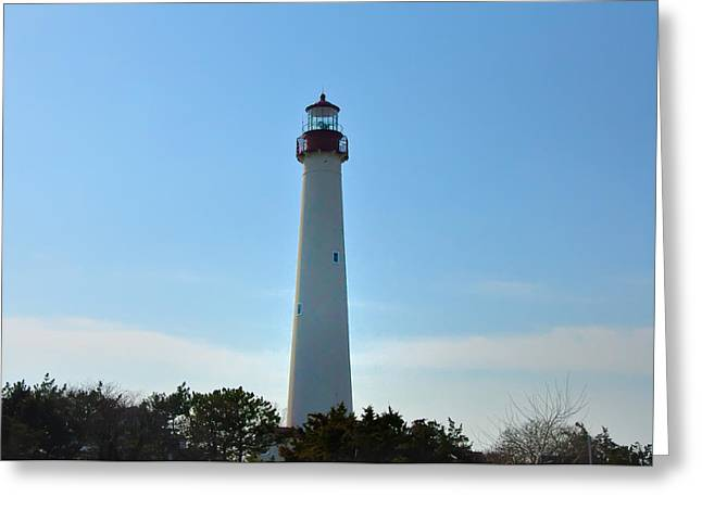 The Beacon Of Cape May Greeting Card by Bill Cannon