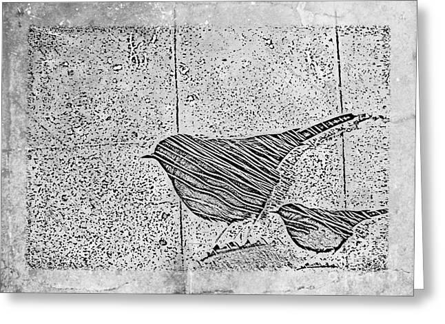 The Birds Greeting Card by Tripti Singh
