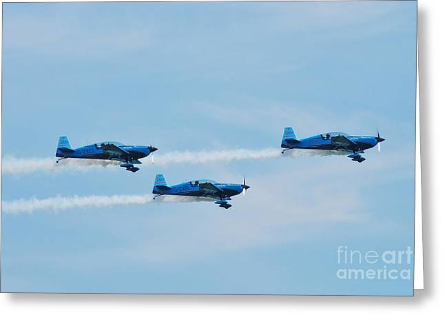 The Blades Aerobatic Team Greeting Card