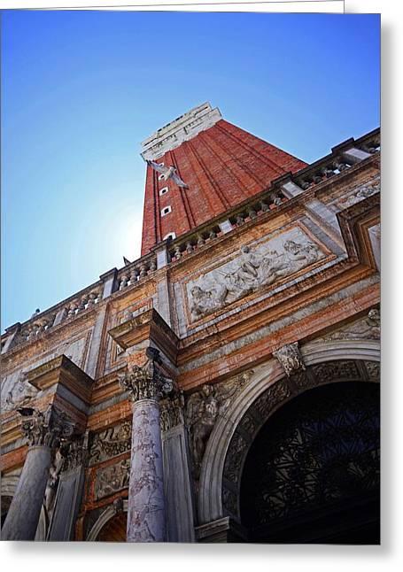 The Campanile Di San Marco Greeting Card