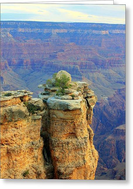The Canyon Balanced Rock Greeting Card by Douglas Miller