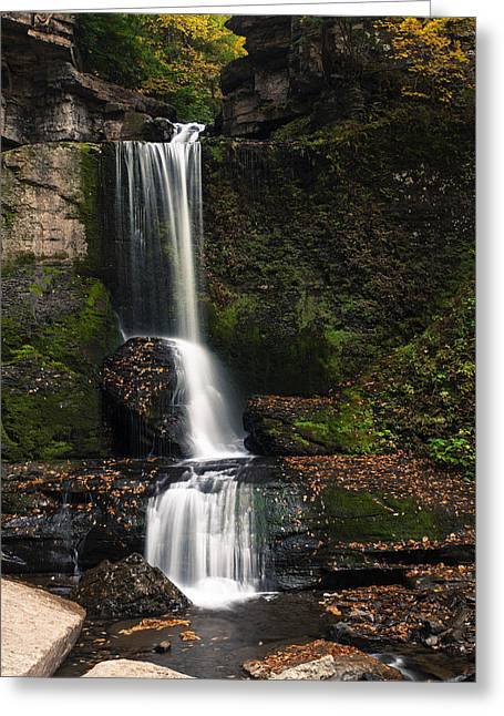 The Cowshed Falls Greeting Card