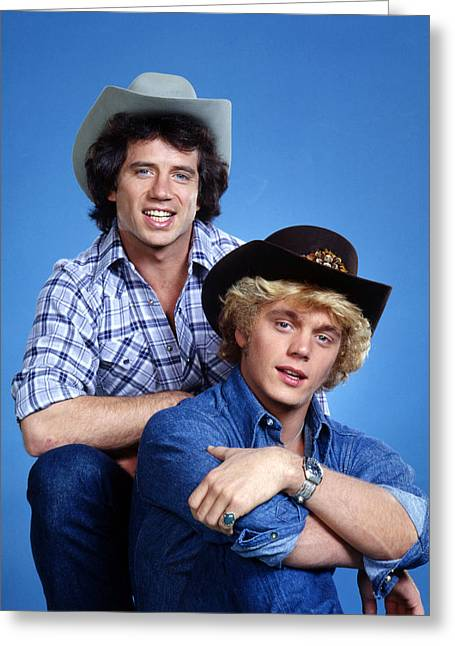 The Dukes Of Hazzard  Greeting Card by Silver Screen