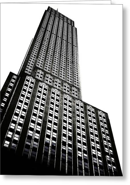 The Empire State Building Greeting Card by Natasha Marco