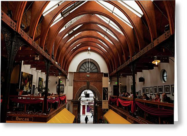 The English Market, Cork City, Ireland Greeting Card by Panoramic Images