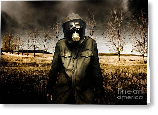 The Fall Of War Greeting Card by Jorgo Photography - Wall Art Gallery