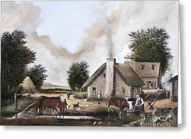 The Farmyard Greeting Card