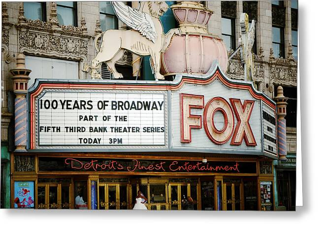 The Fox Theatre Greeting Card